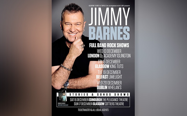 Jimmy Barnes - No Second Prize